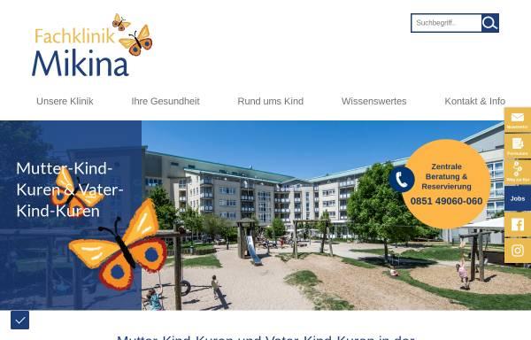 Vorschau von www.mikina.de, mikina Kureinrichtung Bad Schönborn