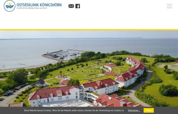 Vorschau von www.mutter-kind.com, Ostseeklinik Königshörn (Rügen)