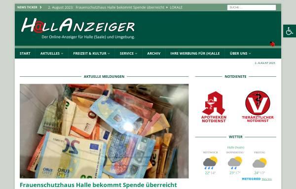 Vorschau von www.wag-halle.de, Werbeagentur Girod