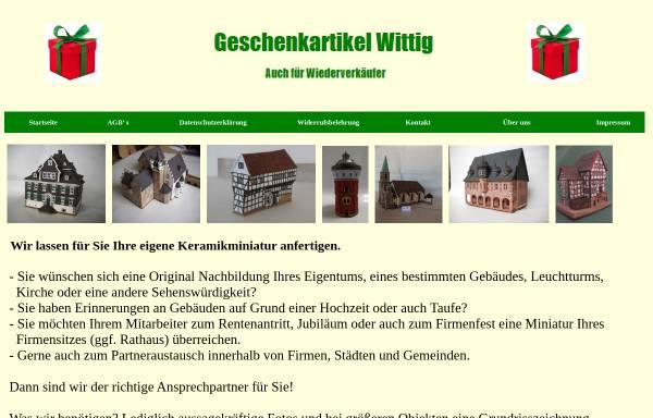 Vorschau von www.geschenke-wittig.de, Geschenkartikel Wittig