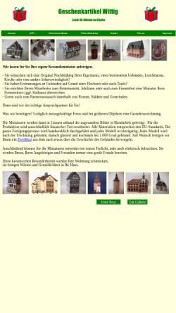 Vorschau der mobilen Webseite www.geschenke-wittig.de, Geschenkartikel Wittig