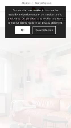 Vorschau der mobilen Webseite zeitwohnwerk.de, Möblierte Wohnungen und Apartments bundesweit
