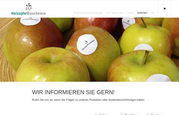 Vorschau von www.holzapfel-bauchemie.de, Hozapfel Bauchemie GmbH & Co. KG