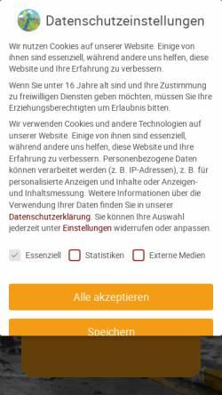 Vorschau der mobilen Webseite www.terratech-ngo.de, Terra Tech Förderprojekte e.V.