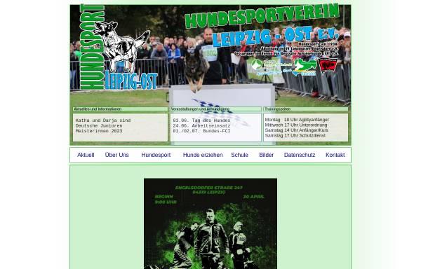 Vorschau von www.hundeplatz-leipzig.de, Hundesportverein Leipzig-Moelkau e.V.