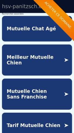 Vorschau der mobilen Webseite www.hsv-panitzsch.de, Hundesportverein Panitzsch 96 e.V.