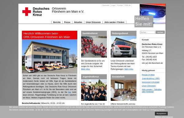 Vorschau von www.drk-floersheim.de, DRK OV Flörsheim am Main e.V.