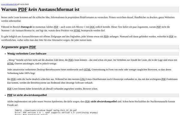 Vorschau von www.fabiankeil.de, Warum PDF kein Austauschformat ist