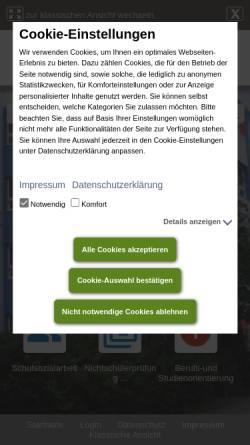 Vorschau der mobilen Webseite www.piaget-schule-berlin.de, Jean-Piaget-Oberschule