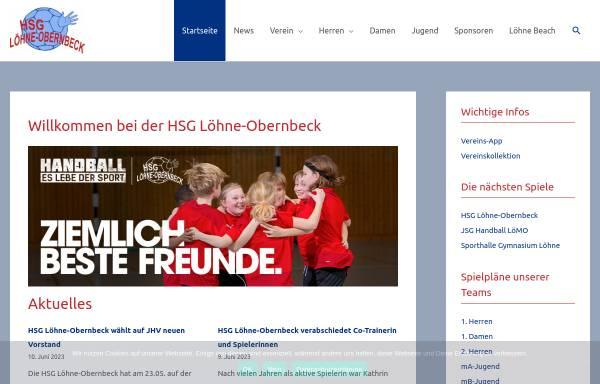 Vorschau von www.hsglo.de, HSG Löhne-Obernbeck - 1. Herrenmannschaft