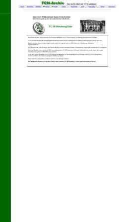 Vorschau der mobilen Webseite www.volxbank.de, FCH Archiv, Fan-Page des FC Homburg