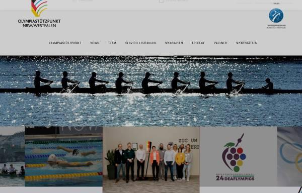 Vorschau von www.osp-westfalen.de, Olympiastützpunkt Westfalen