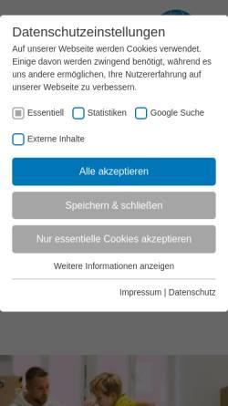 Vorschau der mobilen Webseite www.vibss.de, VIBSS Landessportbund NRW