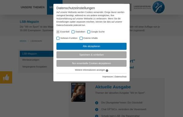 Vorschau von www.wir-im-sport.de, www.wir-im-sport.de