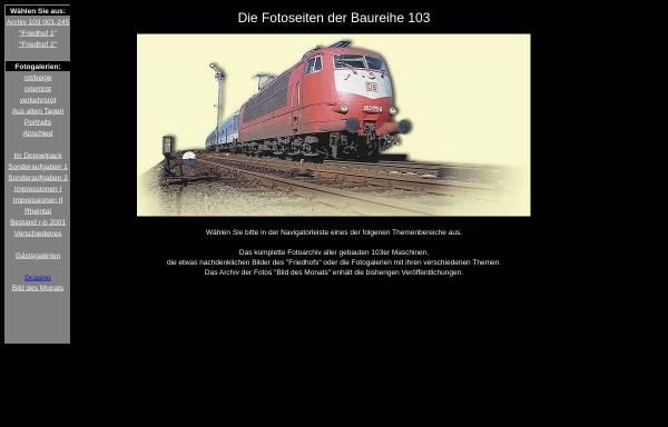 Vorschau von www.103er.de, 103er.de