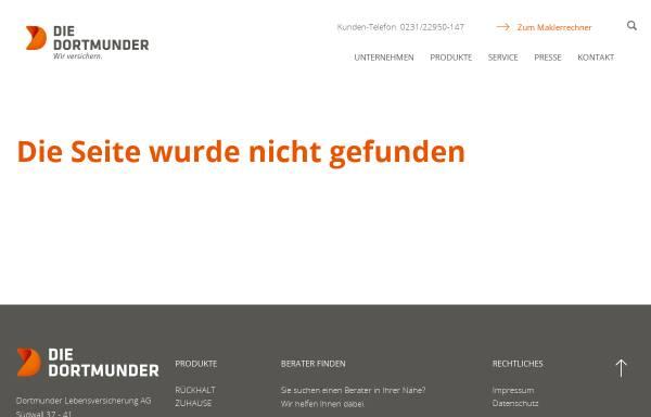 Vorschau von www.dortmunder.de, Swatch-Börse Dortmund