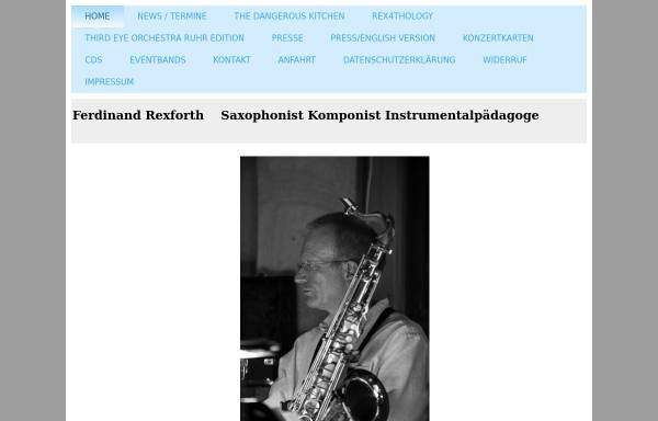 Vorschau von www.ferdinandrexforth.de, Rexforth, Ferdinand