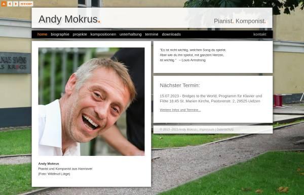 Vorschau von www.andymokrus.de, Mokrus, Andy