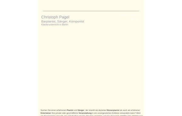 Vorschau von www.christo-p.com, Pagel, Christo
