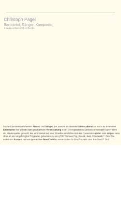Vorschau der mobilen Webseite www.christo-p.com, Pagel, Christo