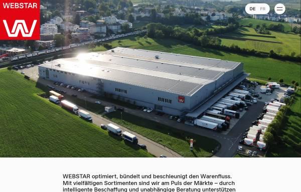 Vorschau von www.webstar.ch, E. Weber & Cie AG