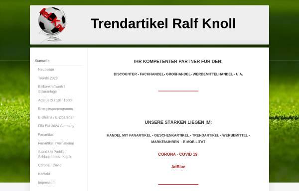 Vorschau von www.trendartikel-knoll.de, Trendartikel Ralf Knoll