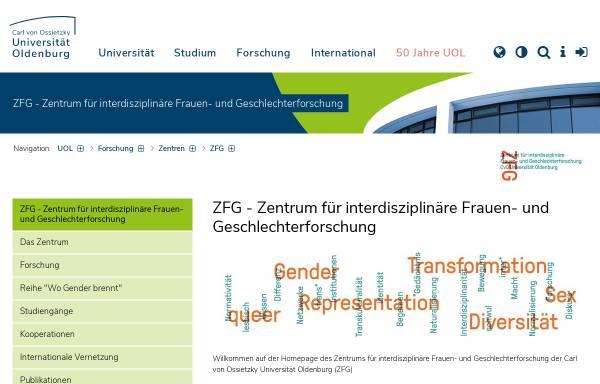 Vorschau von www.uni-oldenburg.de, Frauen- und Geschlechterforschung