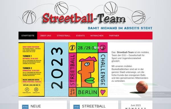 Vorschau von www.streetball-team.de, Streetball Team