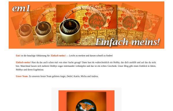 Vorschau von www.em1.de, Emmrich Grafik und Design