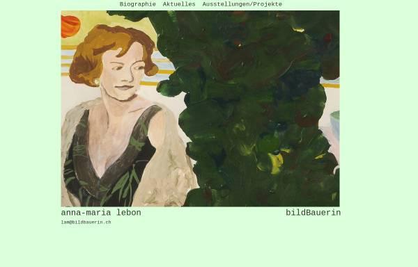 Vorschau von www.bildbauerin.ch, Lebon, Anna-Maria