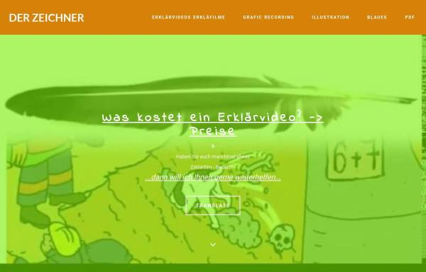 Vorschau von www.der-zeichner.de, Friedhelm Maria Leistner