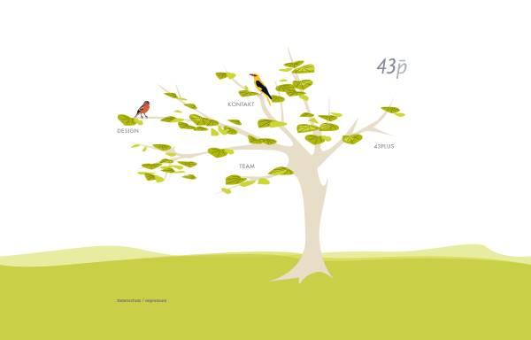 Vorschau von www.43p.de, 43p * Büro für Gestaltung