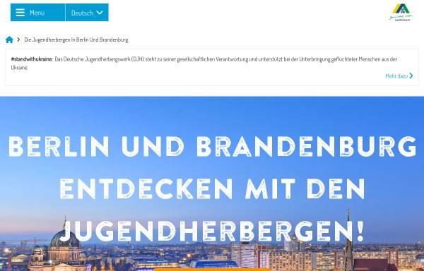 Vorschau von www.jugendherbergen-berlin-brandenburg.de, Deutsches Jugendherbergswerk - Landesverband Berlin Brandenburg