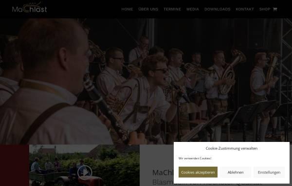 Vorschau von www.machlast.at, MaChlast Blaskapelle