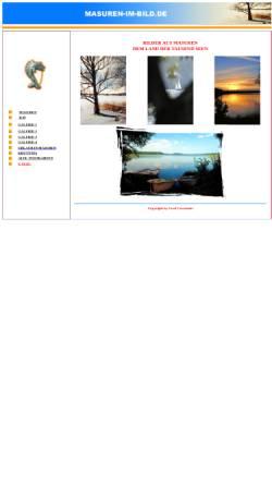 Vorschau der mobilen Webseite www.masuren-im-bild.de, Czeczinski, Gerd