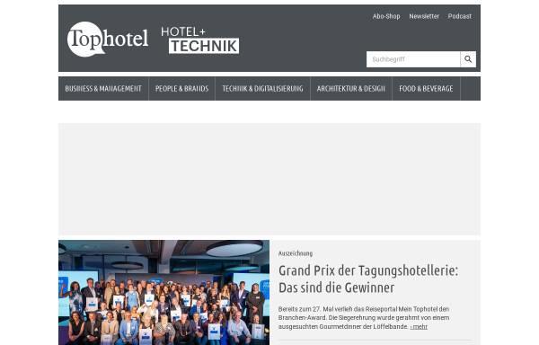 Vorschau von www.tophotel.de, Top Hotel - Freizeit Verlag Landsberg GmbH