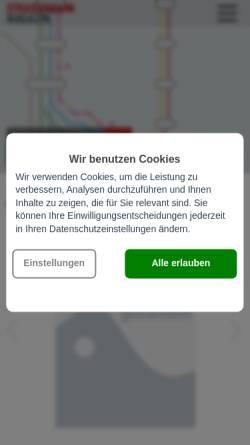 Vorschau der mobilen Webseite www.strassenbahn-magazin.de, Strassenbahn-Magazin.de