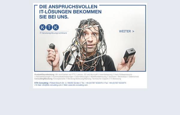 Vorschau von ktk-consulting.com, Klaus the Kaye KTK-Consulting