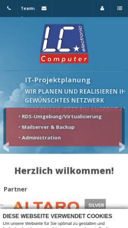 Vorschau der mobilen Webseite www.carlile.de, Lawrence Carlile Computer und Netzwerke