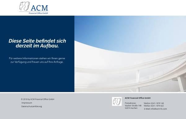 Vorschau von www.widerruf-ihrer-lebensversicherung.de, ACM Advanced Capital Management AG