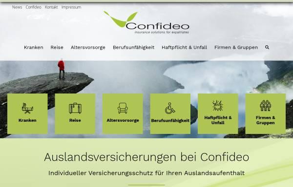 Vorschau von www.confideo.com, Confideo GmbH
