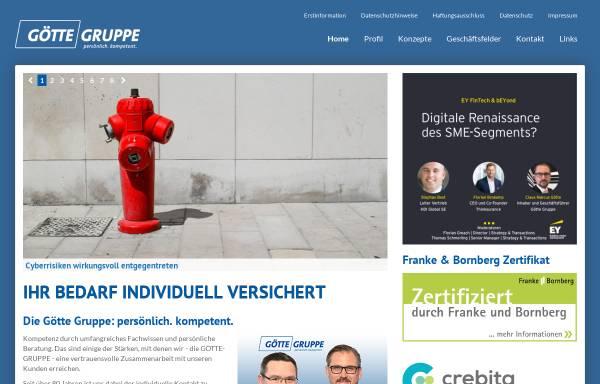 Vorschau von www.goette-gruppe.de, Götte-Gruppe