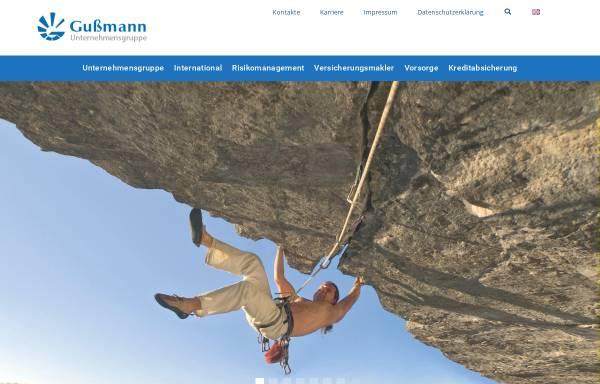 Vorschau von www.gussmann-vm.de, Gußmann-Versicherungsmakler GmbH + Co. KG