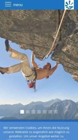 Vorschau der mobilen Webseite www.gussmann-vm.de, Gußmann-Versicherungsmakler GmbH + Co. KG
