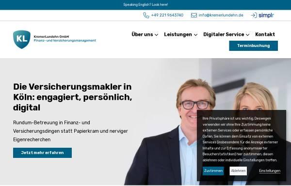 Vorschau von www.kremerlundehn.de, KremerLundehn Assekuranz-Makler GmbH