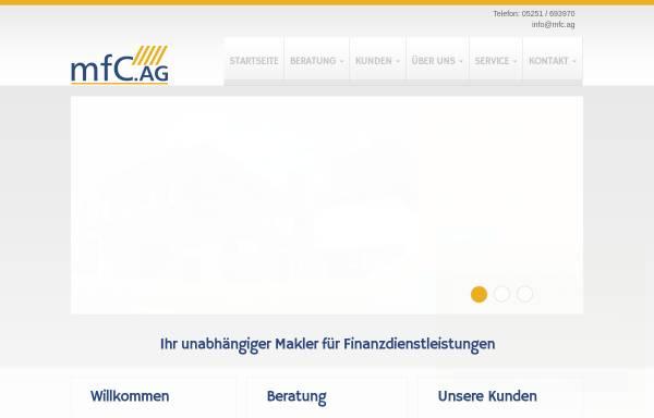 Vorschau von www.myfinancec.de, MyfinanceC AG