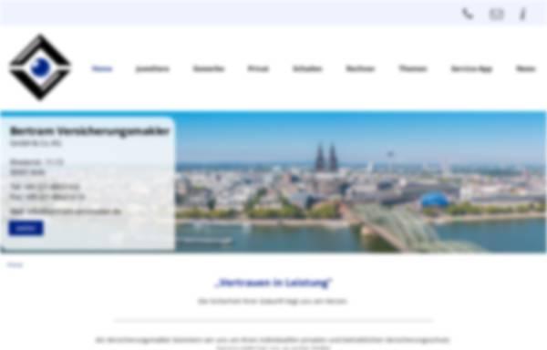 Vorschau von bertram-versicherungsmakler.de, Peter Bertram Versicherungsmakler GmbH