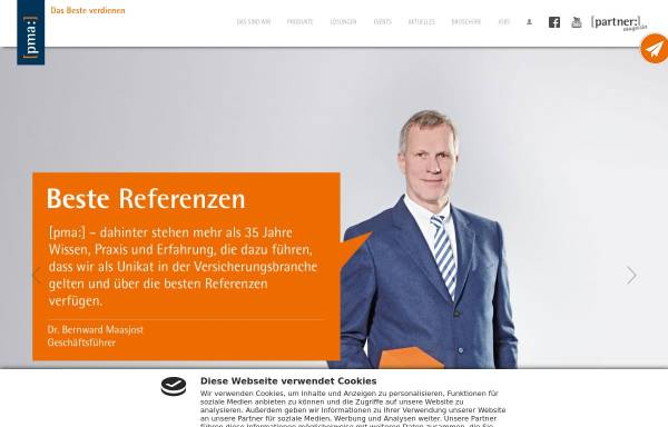Vorschau von www.pma.de, PMA: Finanz- und Versicherungsmakler GmbH