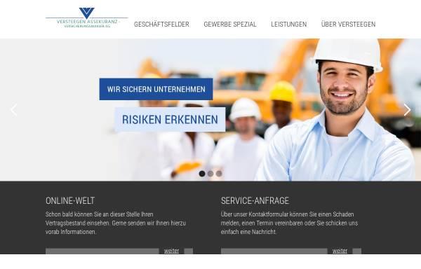 Vorschau von www.versteegen.de, Versteegen Assekuranz Versicherungsmakler AG
