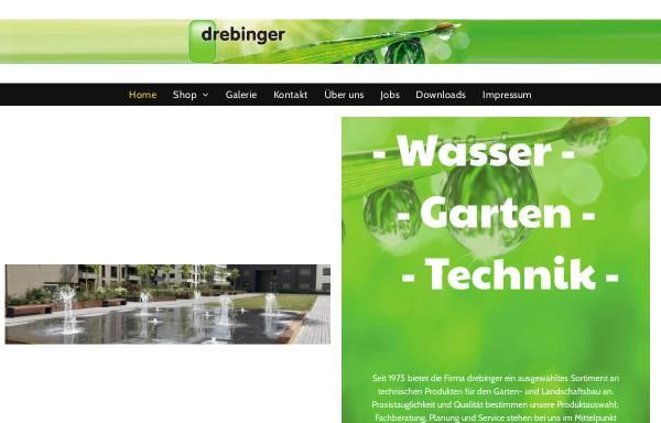 Vorschau von www.drebinger.by, Drebinger Gartentechnik